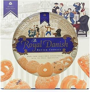 Royal Danish Premium Butter Cookies - Festive tin (Original Gift Box (32 oz), 1)