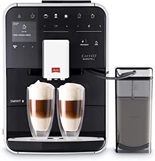 Melitta Caffeo Barista TS Smart F850-102 F850-102-Cafetera Automática, Super Silenciosa, Control con App Connect, Función ...