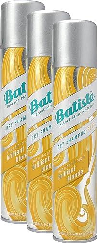 Shampoo a secco Batiste Dry Shampoo, biondo brillante con un tocco di colore per capelli biondi, capelli freschi per ...
