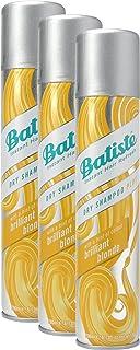 comprar comparacion Batiste Brilliant Blonde Champú en seco con un toque de color para cabellos rubios, para todos los tipos de cabello...