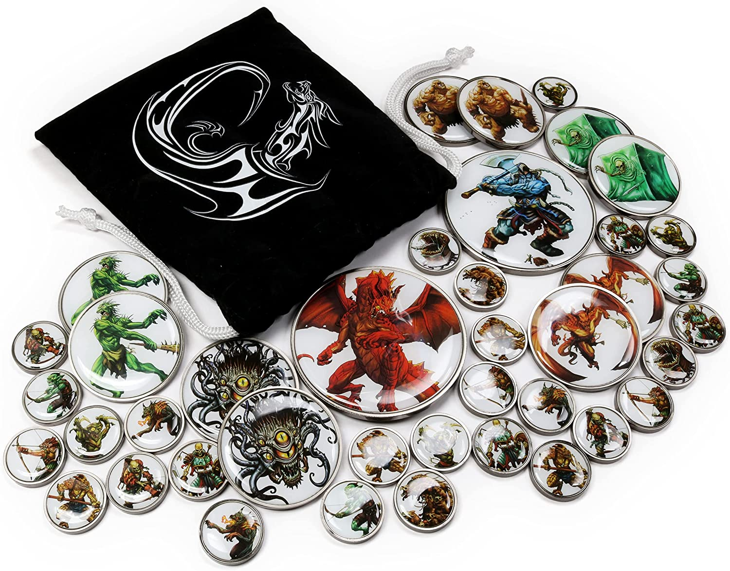Baltimore Mall Chill Approach Premium DD Tabletop - Tokens RPG Creatur Monster OFFicial shop