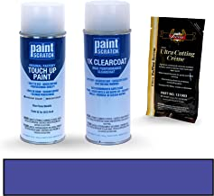 PAINTSCRATCH Blue Flame Metallic SZ for 2012 Ford Fusion - Touch Up Paint Spray Can Kit - Original Factory OEM Automotive Paint - Color Match Guaranteed