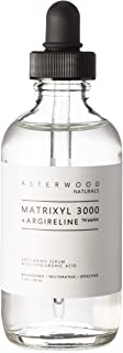 MATRIXYL 3000 + ARGIRELINE Peptide 4 oz Serum + Organic Hyaluronic Acid, Wrinkle Aging Fighting, Powerful Line Remover and Collagen Booster ASTERWOOD NATURALS Liquid Face Lift in a Bottle
