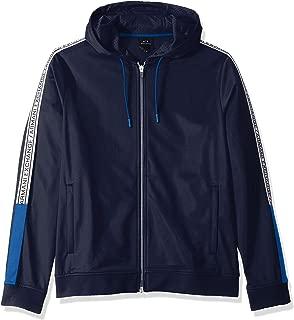 A|X Armani Exchange Men's Polyester Zip-up Sweatshirt