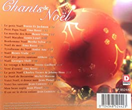 Chants de Noel - Christmas songs in french sung by popular chanteurs and chanteuses