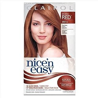 Clairol Nice 'n Easy Permanent Color, 6R/110 Natural Light Auburn 1 kit
