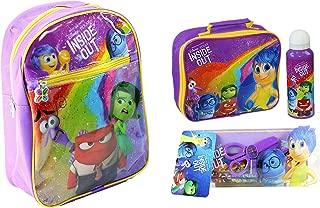 Disney Pixar Inside Out Mega School Set - Rucksack, Lunch Bag, Bottle & Stationary