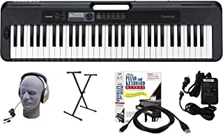 $202 » Casio CT-S300 61-Key Premium Keyboard Package with Headphones, Stand, Power Supply, 6-Foot USB Cable and eMedia Instructional Software (CAS CTS300 EPA)