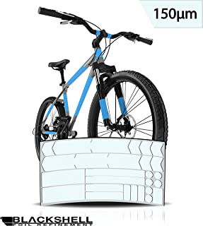 Graz Design - Juego de adhesivos decorativos para bicicleta BMX, MTB, bicicleta de carretera o bicicleta eléctrica (24 unidades), transparente