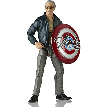 Marvel Legends Avengers Infinity War Stan Lee Blue Suit Action Figure Gauntlet 6