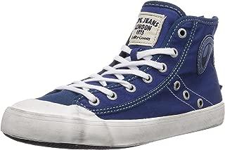 London Clinton Ankle Boot - Zapatillas Deportivas Altas de Lona Mujer