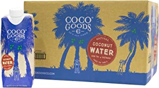 purity organic coconut water