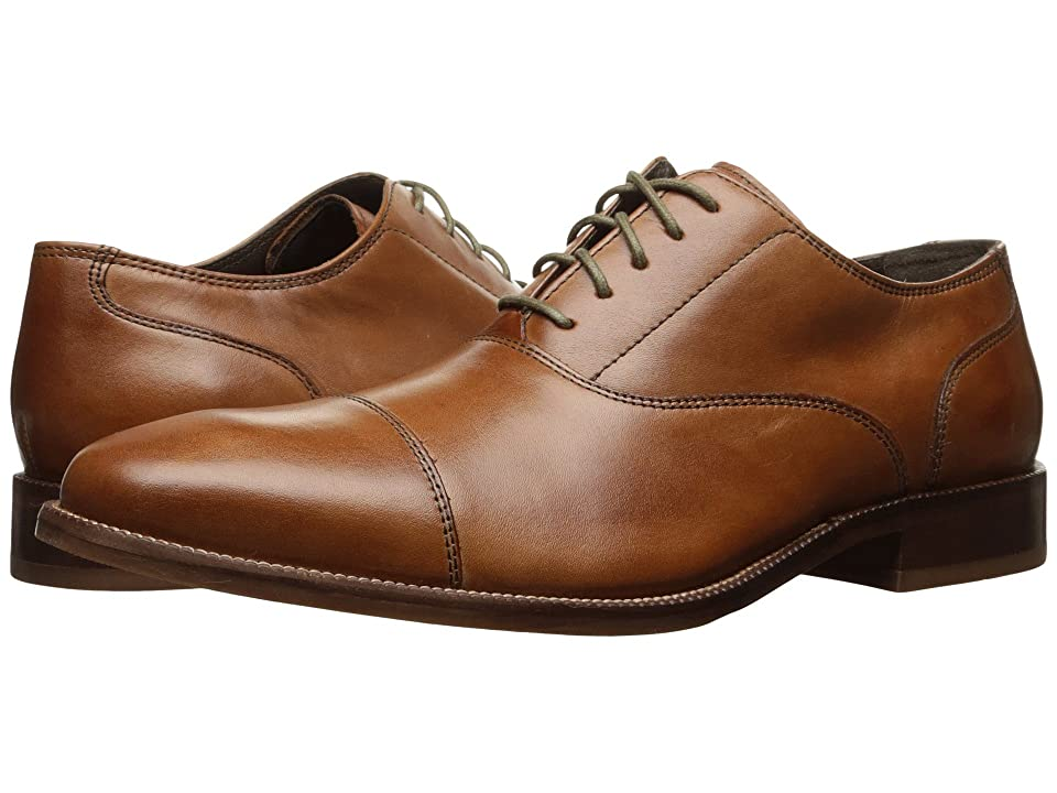 Cole Haan Williams Cap Toe II (British Tan) Men