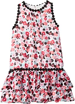 Kate Spade New York Kids Blooming Floral Dress (Toddler/Little Kids)