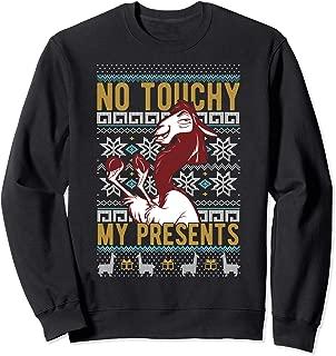 Emperor's New Groove Kuzco No Touchy Ugly Christmas Sweatshirt