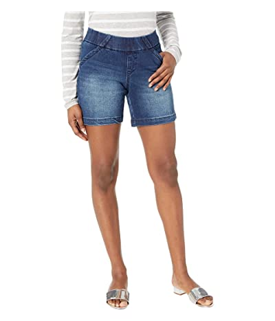 Jag Jeans Petite 7 Petite Gracie Pull-On Shorts (Flatiron) Women