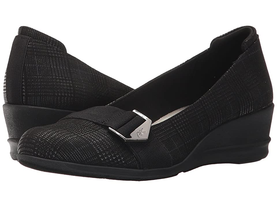 Anne Klein Cici (Black Fabric) Women