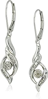 diamond danglers earrings