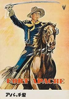 Studio Release XL Movie Poster Fort Apache John Wayne Japanese Poster 20 X 28
