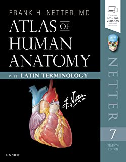 Atlas of Human Anatomy: Latin Terminology: English and Latin Edition (Netter Basic Science)