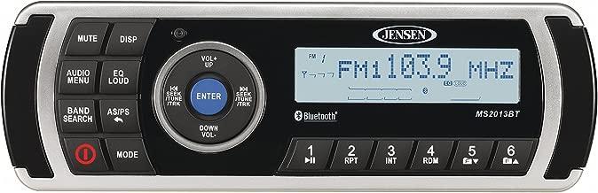 Jensen MS2013BTR AM/FM/USB Waterproof Stereo with Bluetooth