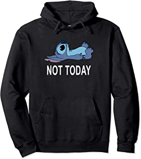 Disney Lilo & Stitch Not Today Stitch Sweat à Capuche
