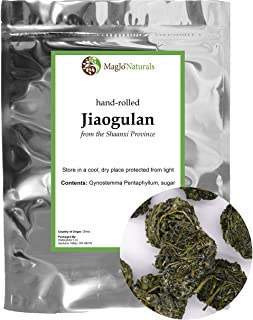 Gynostemma Tea ( Jiaogulan Tea ) | Naturally Sweet Adaptogen | AMPK Metabolic Activator Herbal Tea (4 ounce)
