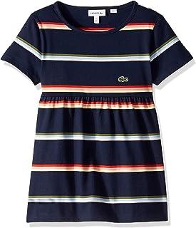 Lacoste Girl Feminine Striped T-Shirt