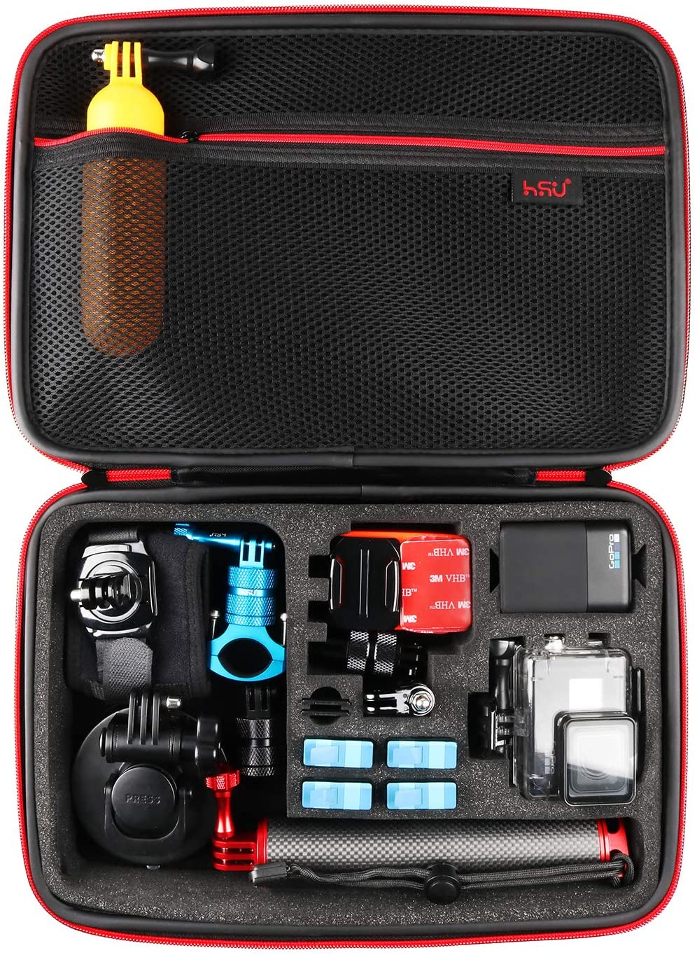 Large Carrying Case for Popular products GoPro Hero cheap 7 HE 9 8 2018 Black
