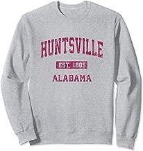 Huntsville Alabama AL Vintage Athletic Sports Design Sweatshirt