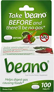 beano Ultra 800 Gas Prevention | Bloating Relief | 100 Tablets