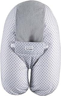 Tineo 684466 Gris almohada para lactancia materna - almohadas para lactancia materna (Gris, Algodón, Poliéster)