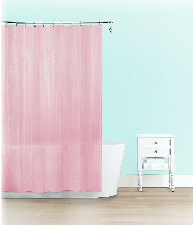 Splash Home Peva 4G Motto Sale item Save money curtain Bathroom Liner Design for Show
