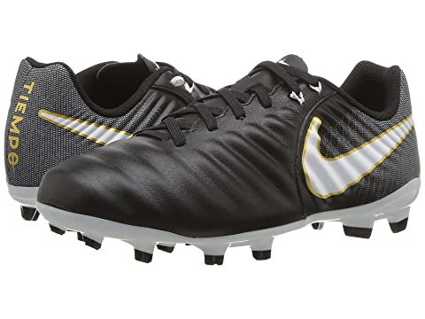 Nike Jr. Tiempo Ligera IV FG Older Kids' Firm-Ground Football Boot Black PU5290937