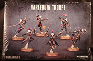 Warhammer 40k Plastic Harlequin Troupe