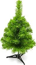 JEFEE Mini Christmas Pine Tree, Premium Artificial Tree for Table Top Desk Classic Series Holiday Decoration, 20-Inch