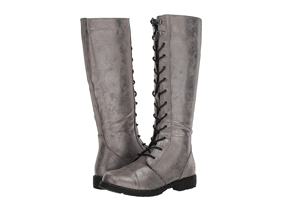 Dirty Laundry Roset Lace-Up Boot (Grey) Women