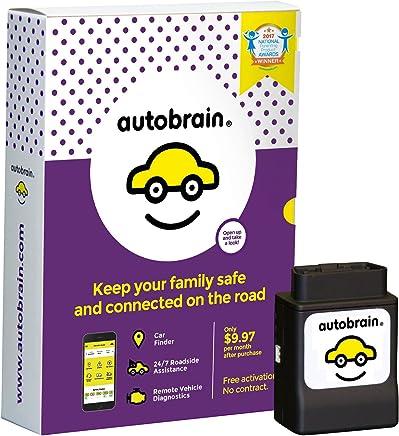 autobrain–Vigilancia, el rastreo GPS, diagnóstico y asistencia en carretera de coche para Teen Conductor de entrenamiento y de la familia y seguridad.