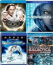 Bioengineered child Morgan + Battle Space Drama Action Blood & Chrome Battlestar Galactica + Stargate SGU Season 1.5 + UNIVERSE Star gate: Continuum Pack Blu Ray Mega Sci-Fi Set