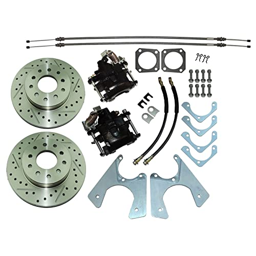 Rear Disc Brake Conversion Kit: Amazon com