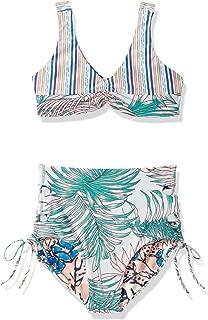 Maaji Girls' Bralette with High Waist Bottom Swimsuit Set