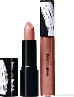 FIND - Sparkle Secret (Barra de labios mate n.1 + Brillo de labios n.7)