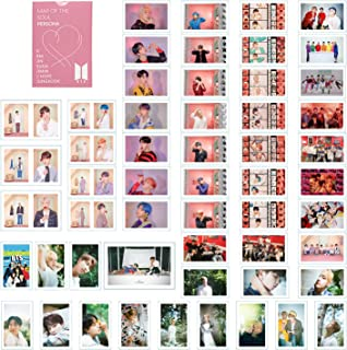 BTS LOMO Cards 54pcs BANTAN Boys Merchandise of Postcards MAP OF THE SOUL PERSONA Gifts for Army Daughter (PERSONA)