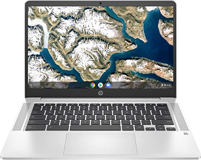 "HP 14"" HD Notebook Intel N4000 1.1 GHz, 4GB Memory, 32GB eMMC Chrome OS 14A-NA0642CL (Renewed)   Amazon"