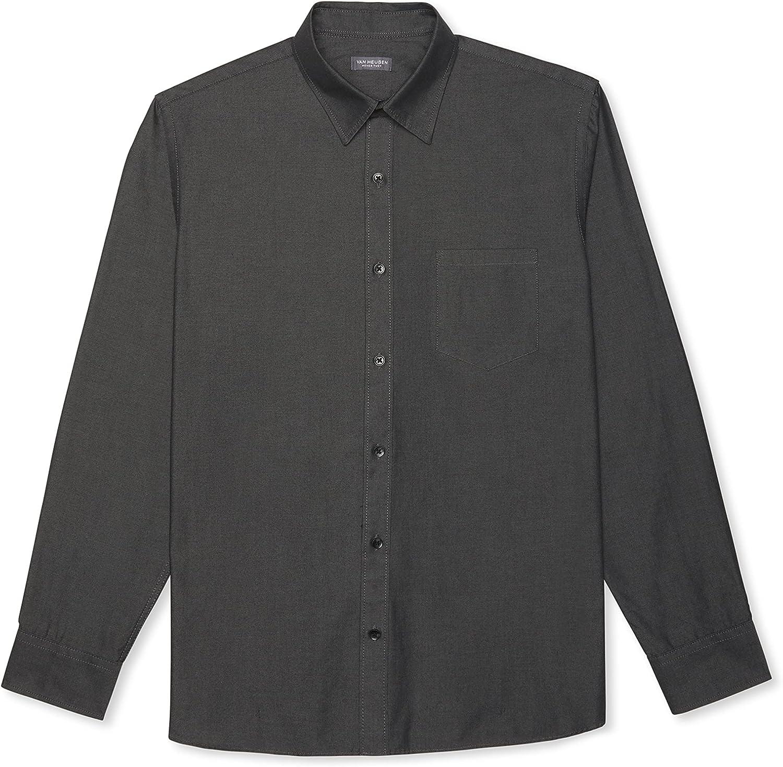 Free Washington Mall shipping New Van Heusen Men's Big and Tall Long Tuck Never Sleeve Shirt