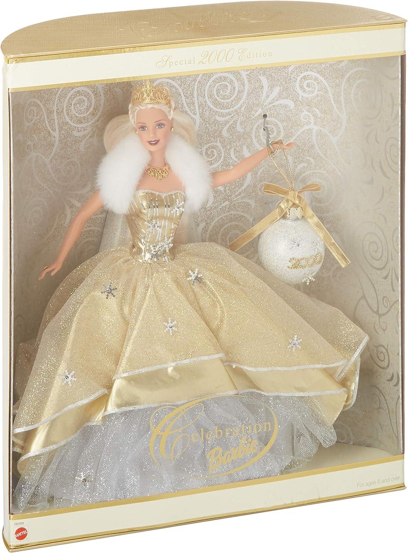 Celebration Barbie 2000 and Millennium Princess Barbie
