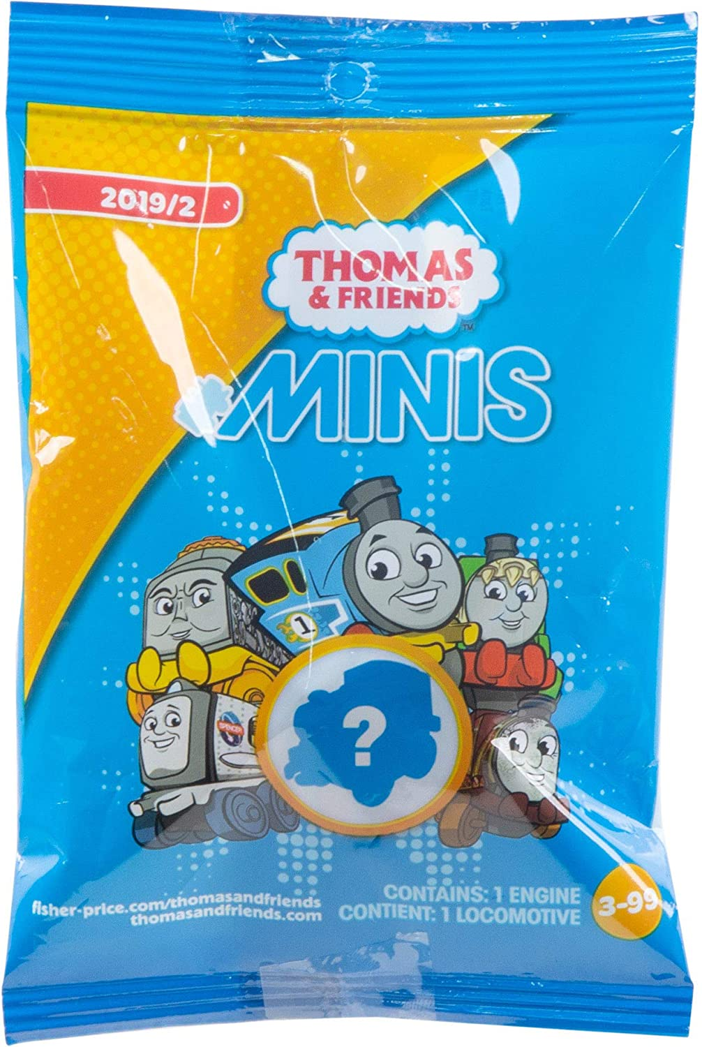 Thomas Friends Collectible MINIS [Alternative dealer] Toy Single Pac It is very popular in Blind Train