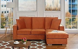 Amazon.com: Orange - Living Room Furniture / Furniture: Home & Kitchen