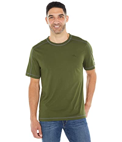 Tommy Bahama Crew Neck Lounge T-Shirt (Rifle Green) Men