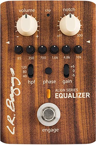 2021 L.R. Baggs Align Equalizer Acoustic Guitar Effects lowest 2021 Pedal outlet sale